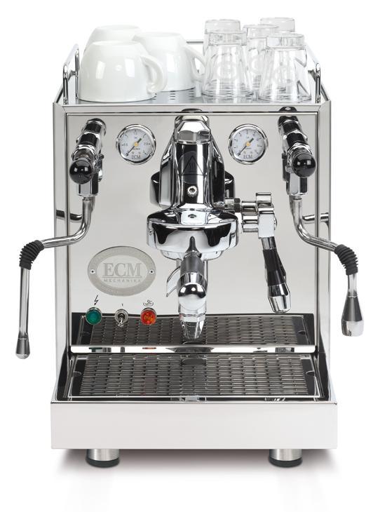 ECM Mechanika IV Profi Zweikreiser Espressomaschine umschaltbar mit Rotationspumpe