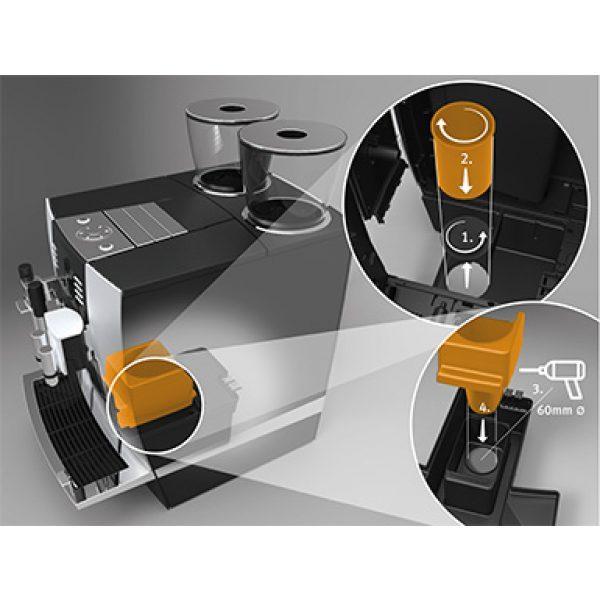 Kaffeesatzabwurf Set für GIGA Professional-Linie