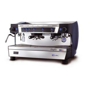 MAGISTER F 2006-M professionelle Halbautomatik Espressomaschine mit 3 Brühgruppen