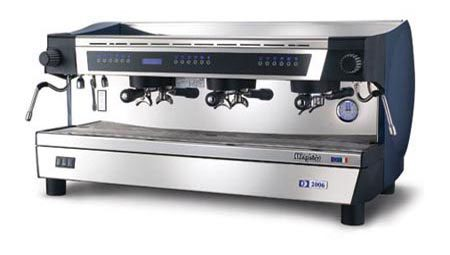 MAGISTER F 2006 professionelle Automatik Espressomaschine mit 3 Brühgruppen