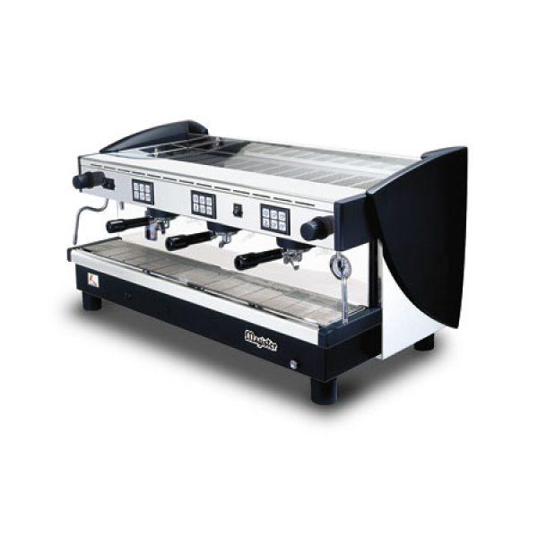 MAGISTER Kappa ES100-HG professionelle Automatik Espressomaschine mit 3 erhöhten Brühgruppen