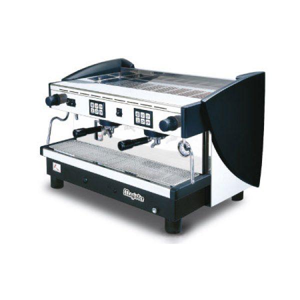 MAGISTER Kappa ES100 professionelle Automatik Espressomaschine mit  2 Brühgruppen