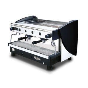 MAGISTER Kappa MS100-HG professionelle Halbautomatik Espressomaschine mit 2 erhöhten Brühgruppen