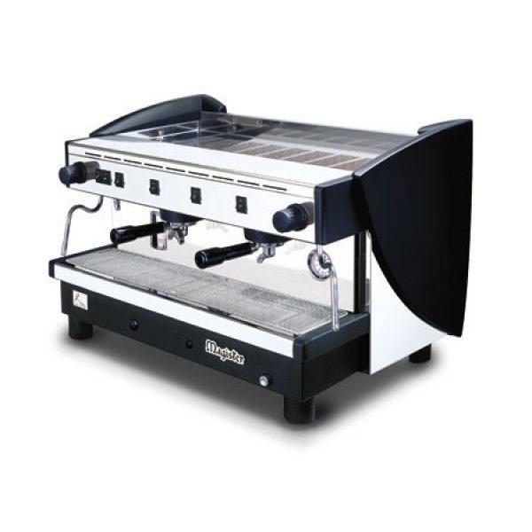 MAGISTER Kappa MS100 professionelle Halbautomatik Espressomaschine mit 2 Brühgruppen