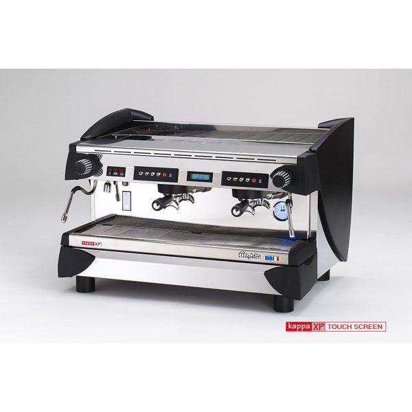 MAGISTER Kappa XP-Touch Screen professionelle Automatik Espressomaschine mit 2 Brühgruppen
