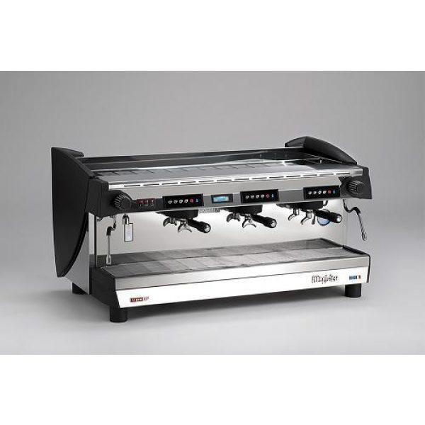 MAGISTER Kappa XP-Touch Screen professionelle Automatik Espressomaschine mit 3 Brühgruppen