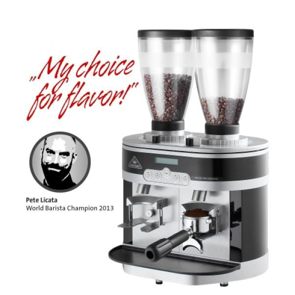 """MAHLKÖNIG K30 Twin professionelle Espresso-Kaffeemühle aus Spezialstahl """"Made in Germany"""""""