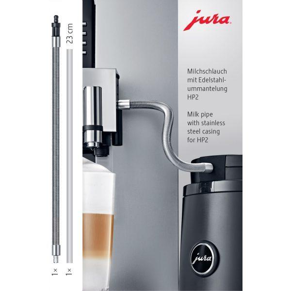 Milchschlauch mit Edelstahlummantelung HP2