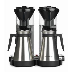 MOCCAMASTER CDGT 20 Thermo Filterkaffeemaschinen in Aluminium poliert mit 5 Jahren Hersteller Garantie