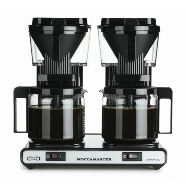 MOCCAMASTER KBG 744 AO Filterkaffeemaschinen in Schwarz mit 5 Jahren Hersteller Garantie