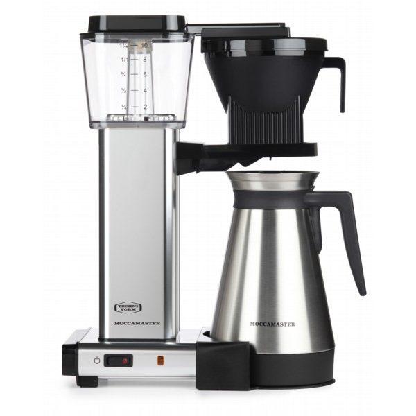 MOCCAMASTER KBGT 741 Filterkaffeemaschinen in Aluminium poliert mit 5 Jahren Hersteller Garantie