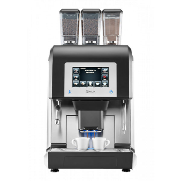 NECTA Charisma Doppe-Espresso HoReCa Festwasser Kaffeevollautomat für Frischmilch