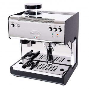 Quick Mill 02835N Superiore Thermoblock Espressomaschine mit integrierter Kaffeemühle