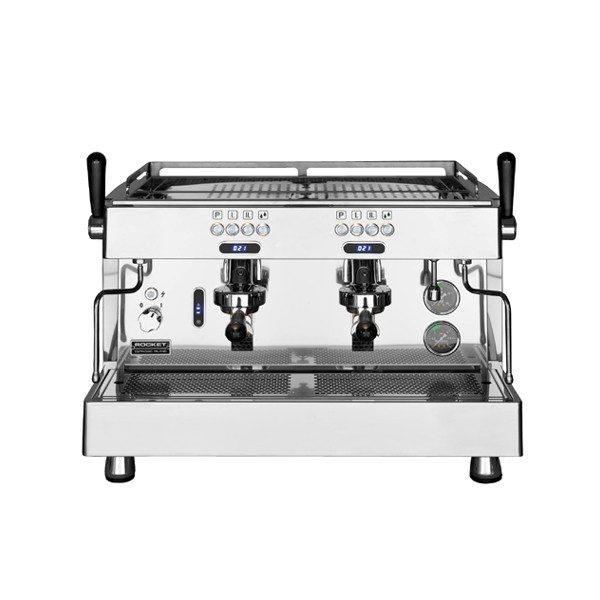 ROCKET Linea Professionale R 8V professionelle Automatik Espressomaschine mit 2 Brühgruppen