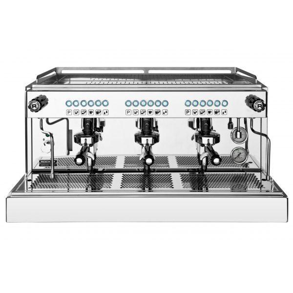 ROCKET Linea Professionale REA professionelle Automatik Espressomaschine mit 3 Brühgruppen