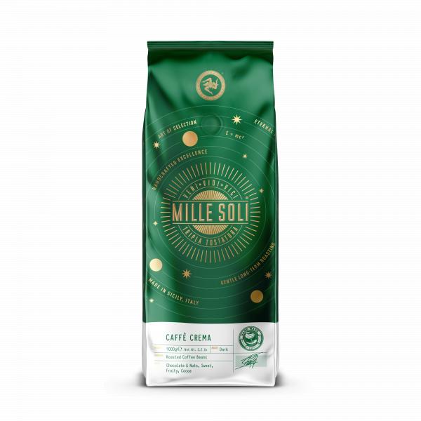 Mille Soli Caffe Crema Beutel 1000g